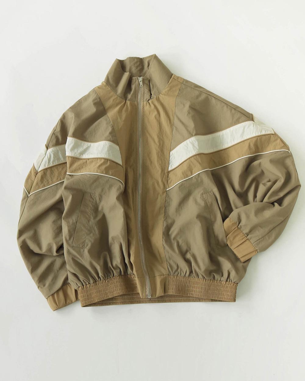 Standcollar Nylon Jacket