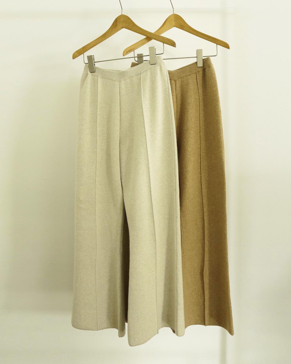 Doubleface Knit Pants