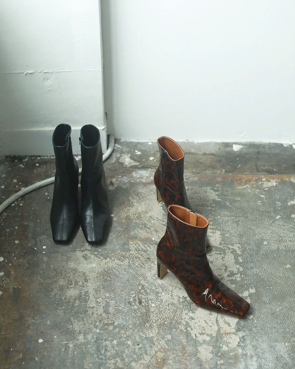 Square Ankle Boots