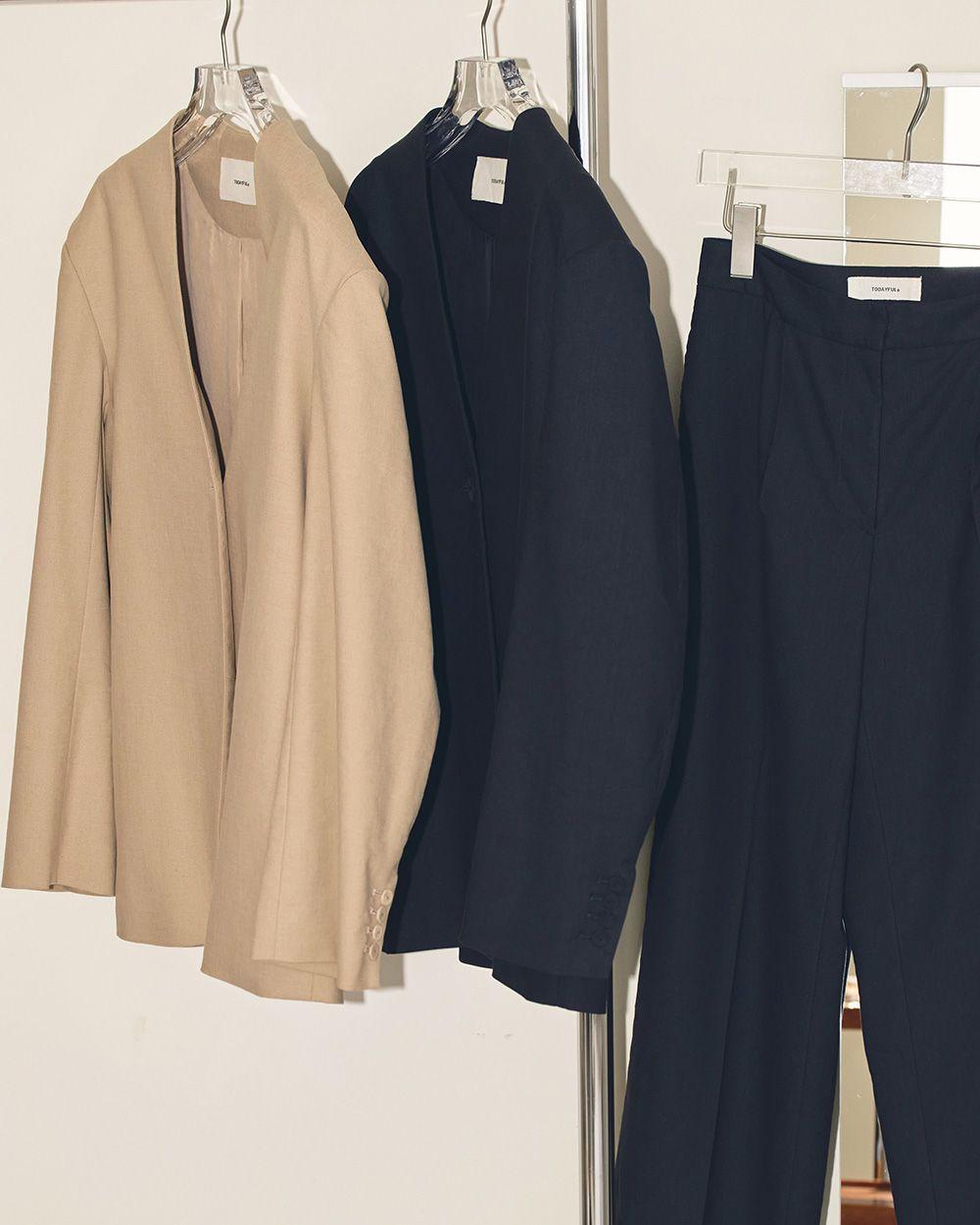 Dobby Linen Jacket
