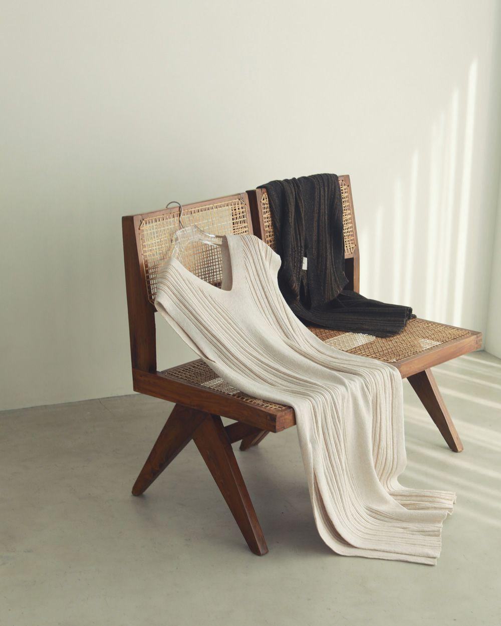 Randomrib Knit Dress