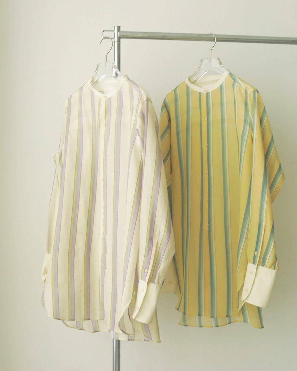 Multistripe Silk Shirts
