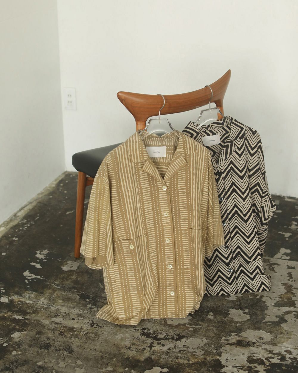 Pattern Boyfriend Shirts