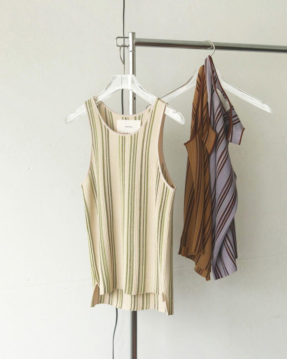 Stripe Knit Tanktop