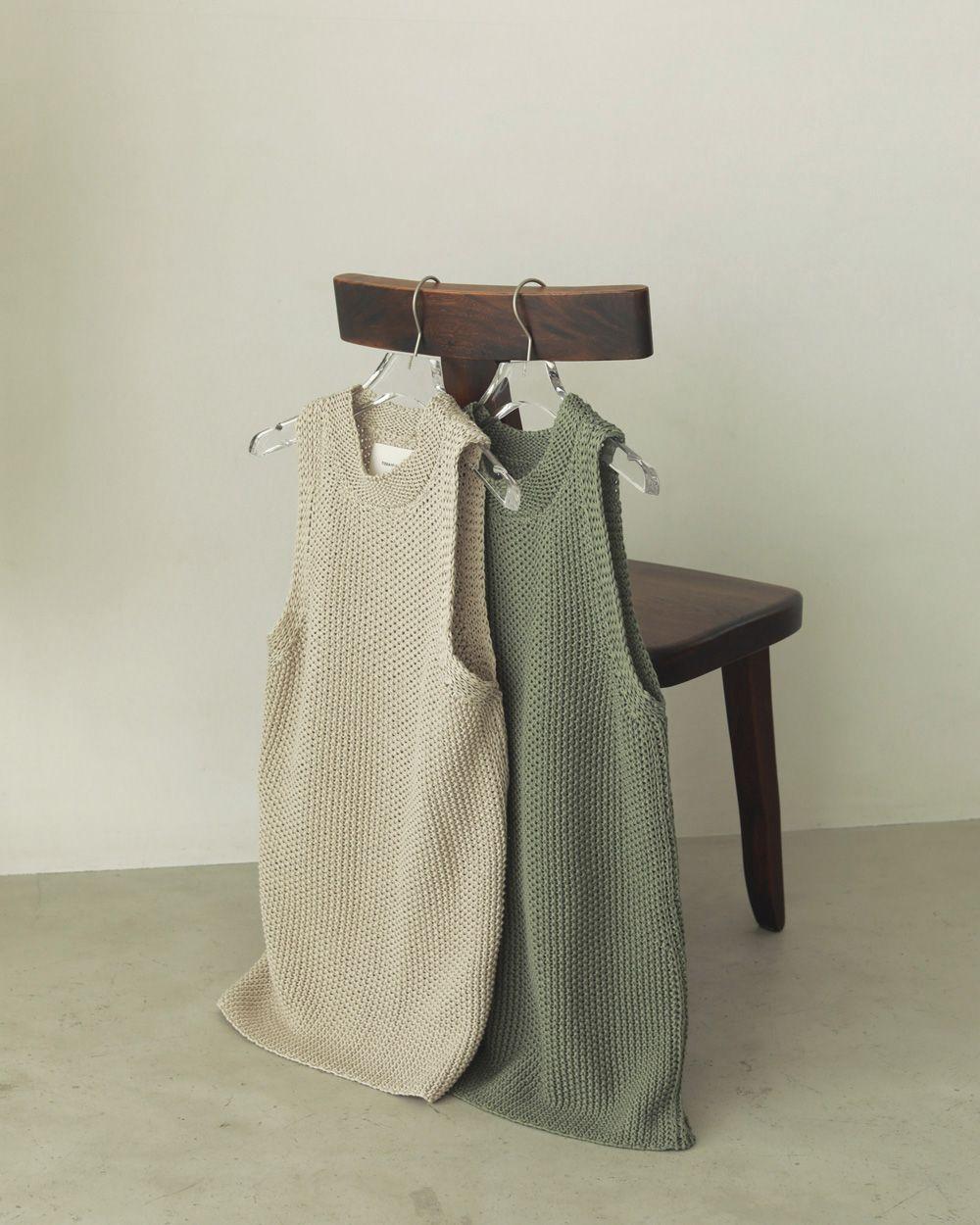 Line Knit Tanktop