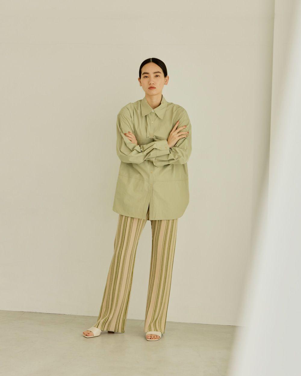 Stripe Knit Leggings
