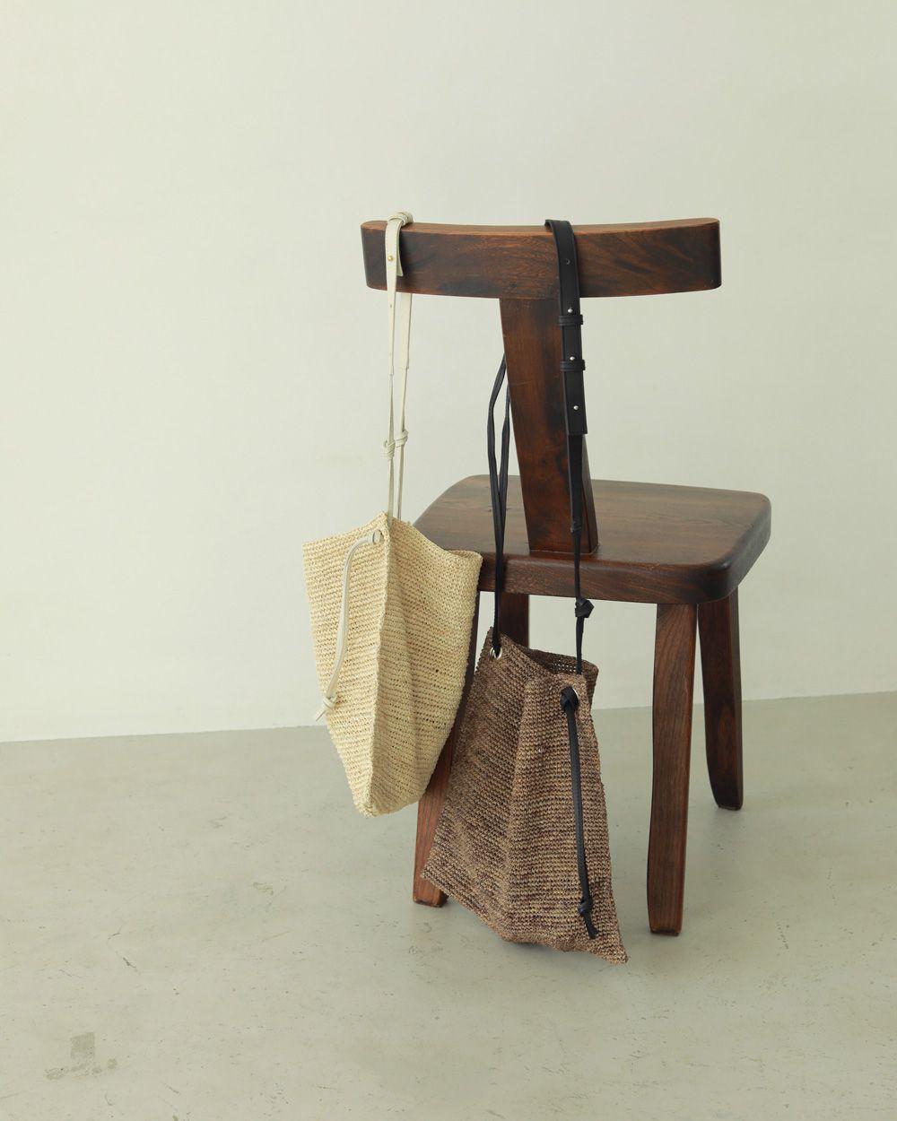 Raffia Shoulder Bag (2way)