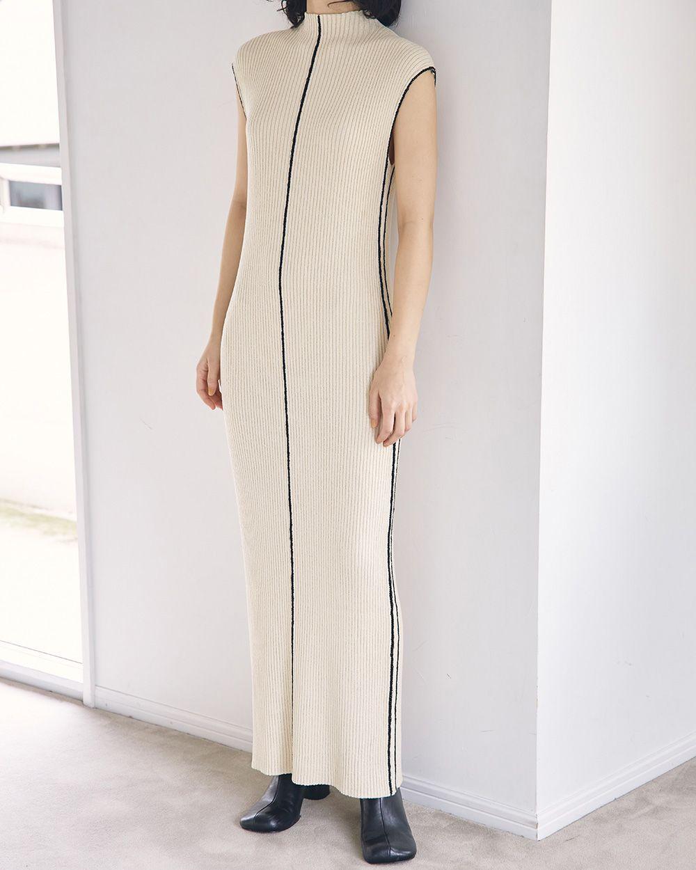 Stitch Knit Dress