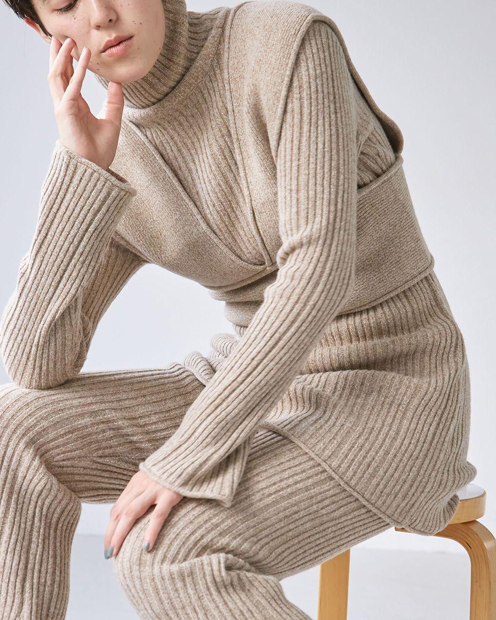 Layered Knit Tunic